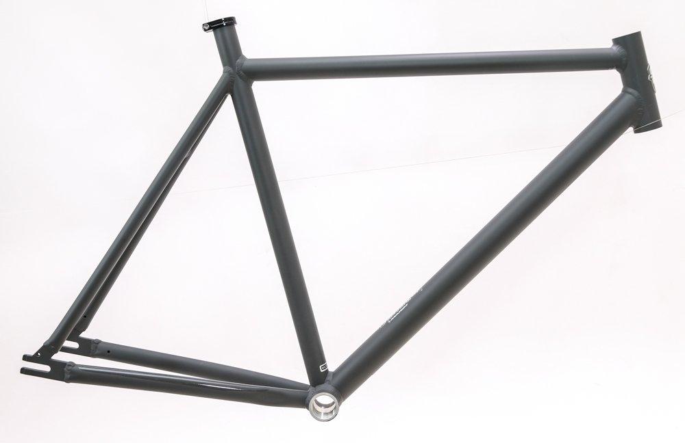 Marin Inverness 53cm Aluminum Single Speed Fixie Track Bike Frame Gray NEW