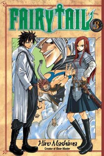 fairy tail manga book 1 - 3