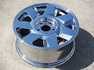 Cadillac Deville: Set of 4 genuine factory 17inch chrome wheels