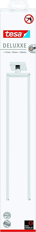 Klebel/ösung tesa EXXCLUSIV Handtuchring Edelstahloptik inkl hohe Belastbarkeit 156mm x 185mm x 45mm rostfrei