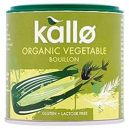 Kallo Organic Vegetable Bouillon - 100g
