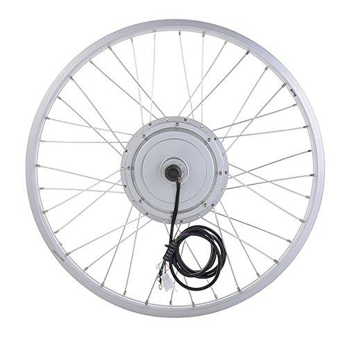 "Front Wheel 20/""  24/"" Electric Bike Motor Fat Tire 36V 3 LEDs indicator 750W"