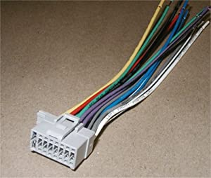 51HT%2BJv JxL._SX300_ amazon com new panasonic wire wiring harness plug automotive panasonic cq-c1305u wiring harness at cita.asia