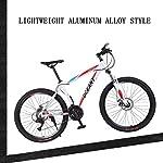 FREIHE-Biciclette-Pieghevoli-da-Mountain-Bike-Forcella-a-Sospensione-a-Doppio-Freno-a-21-velocit-Antiscivolo-Bici-da-Corsa-a-velocit-variabile-Fuoristrada-per-Uomo-e-Donna