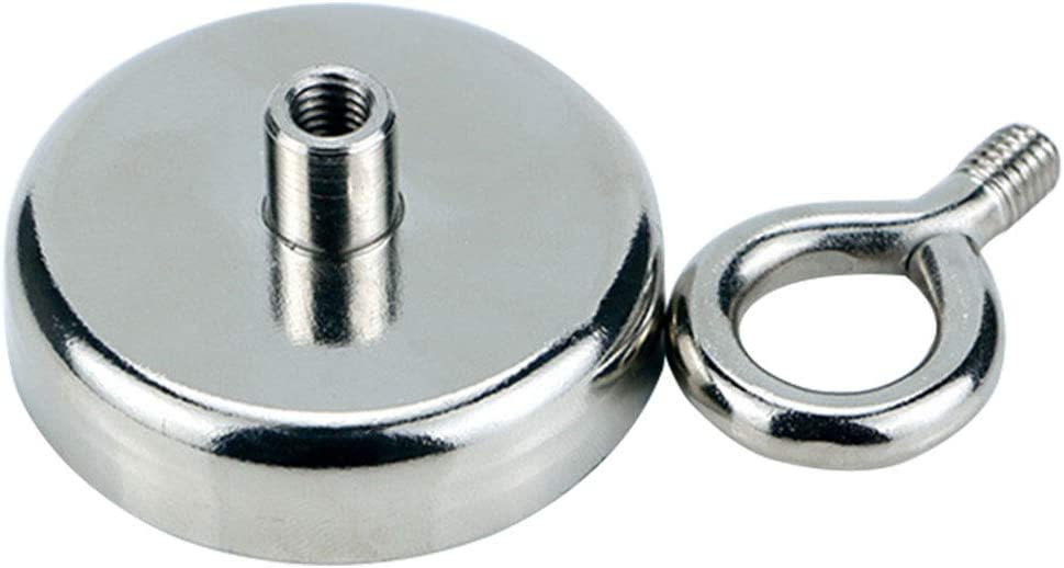 Eyebolt Magnet Super Strong River Fishing Powerful Force Neodymium Round Small