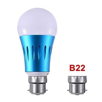 Bombilla LED Inteligente Alexa WiFi,Bombilla de luz cambiante de Color,Funciona con Amazon Alexa, Control de Voz de la casa de Google(E27 E26 E14 B22): ...