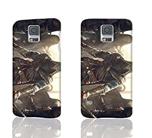 Ezio Costume and Weapon 3D Rough New Design Samsung S5 Case Skin, fashion design image custom S5 I9600 durable hard 3D case cover for Samsung S5 I9600 Case