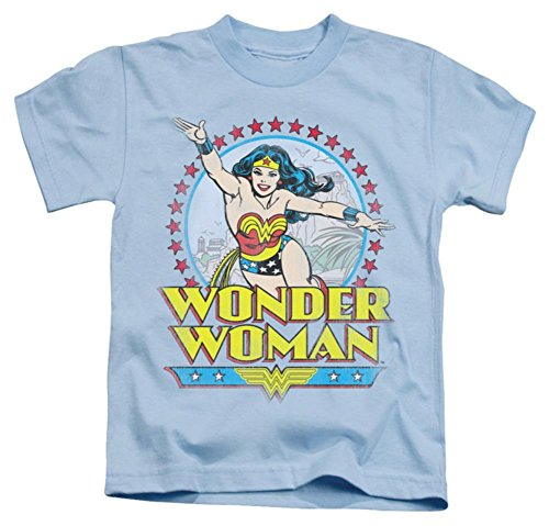 Juvenile: Wonder Woman - Star Of Paradise Island Kids T-Shirt Size 5/6