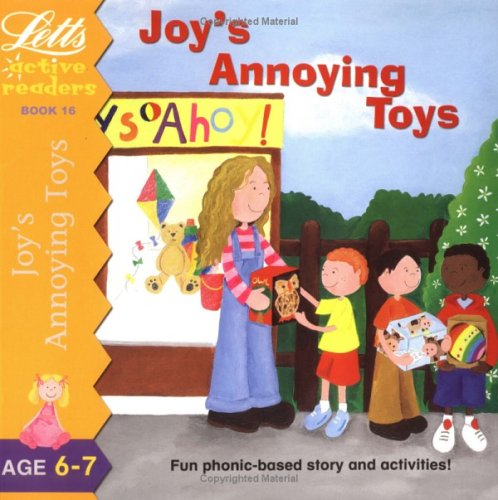 Joy's Annoying Toys (Active Readers Series)