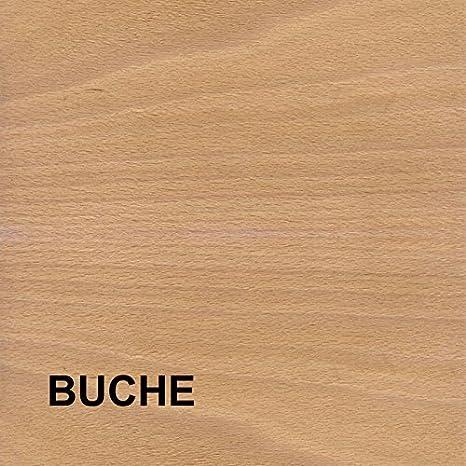 Buche lackiert LA//Lochabstand 96 mm 96 mm Hotec Muschelgriffe Holz 4-010