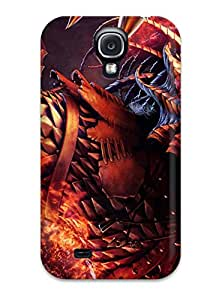 For Galaxy S4 Tpu Phone Case Cover Demon Shout