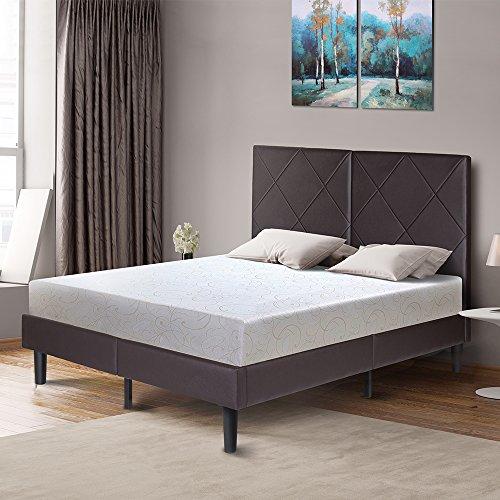 PrimaSleep PR11FM03Q 11 Inch Dura Gel Deluxe Comfort Memory Foam, Queen Folding Bed Mattress, White