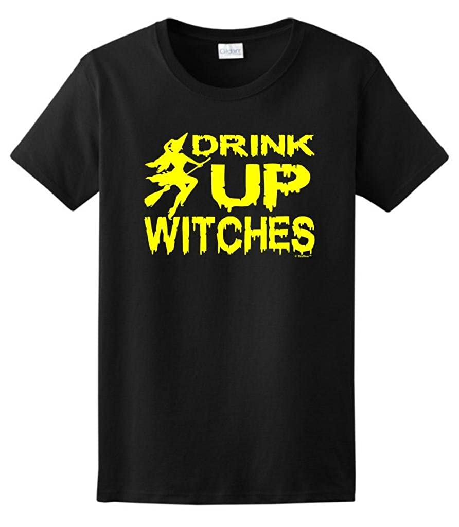 Drink Up Witches Funny Halloween Tshirt