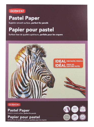 Derwent Pastel Paper Pad, A4, 8.27 x 11.69 Inches Sheet Size