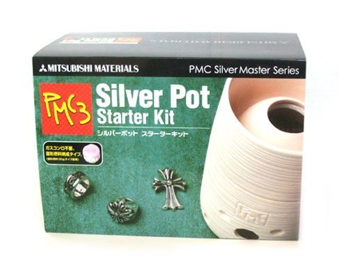 Sterling silver clay PMC3 starter kit with manual (japan import) by Mitsubishi (Pmc3 Silver Clay)