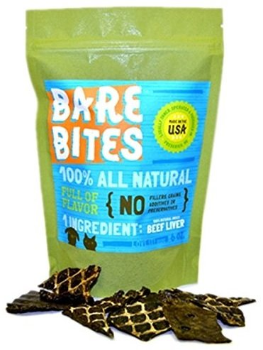 bare-bites-100-all-natural-dehydrated-beef-liver-dog-and-cat-treats-6-ounce-bag