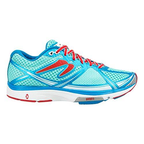 newtonrunning Damen Womens Kismet Iii Running Shoe Laufschuhe Blau (Baby Blue/ruby)