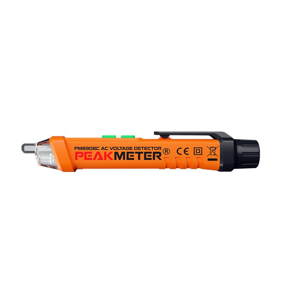 UKCOCO Spannungspr/üfer Ber/ührungslose Spannung Tester Stift AC 12V-1000V Spannung Elektrische Strompr/üfer mit Sonde Spannungstester