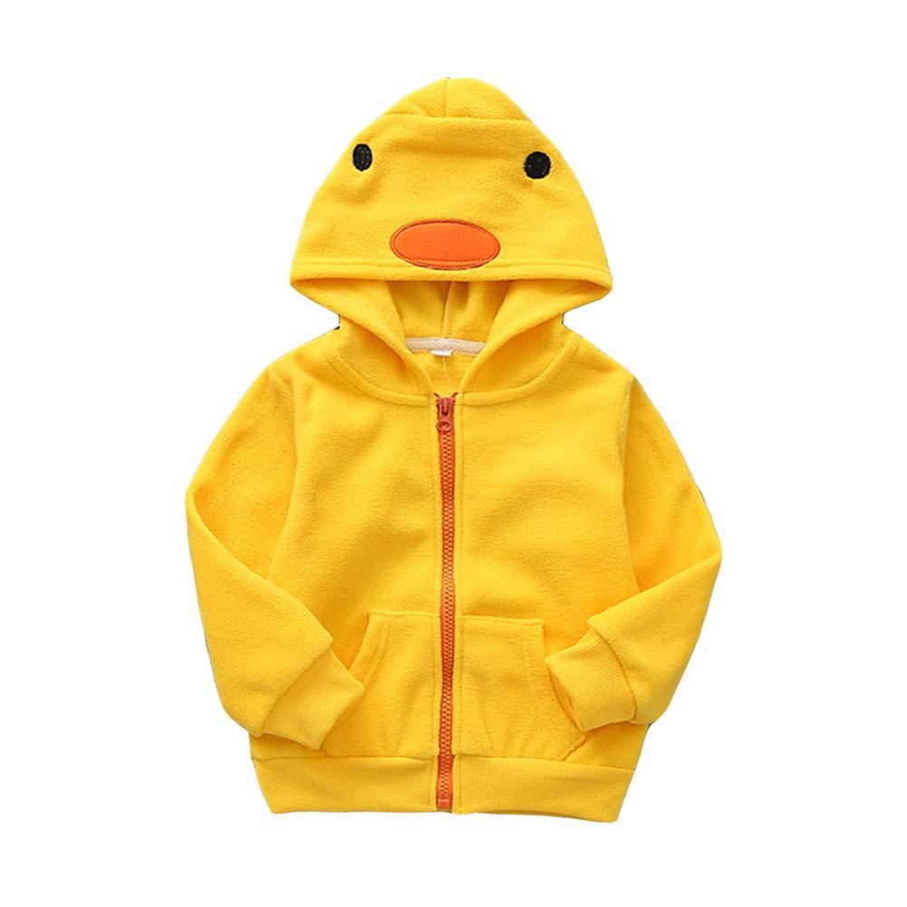 Fairy Baby Toddler Boy Girl Warm Fleece Jacket Cute Cartoon Coat Hoodies Outwear