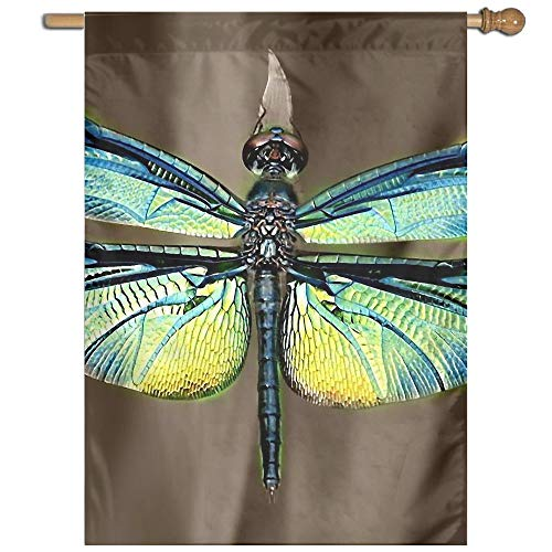 - Garden Flag Dragonfly Picture Lawn Banner Outdoor Yard Home Flag Wall Decoration Flag 27