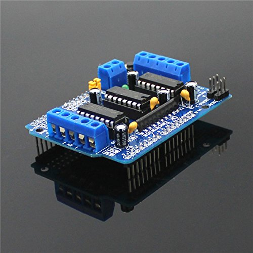 Hu 2019 Good Product (1Piece) L293D Motor Control Shield Motor Drive Expansion Board for Arduino - Blue