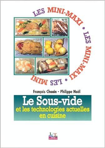 Livres gratuits en ligne Le sous-vide et les technologies actuelles en cuisine epub, pdf