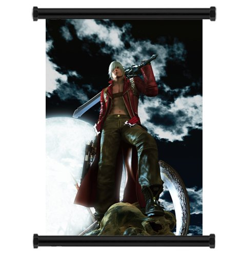 Devil May Cry Anime Fabric Wall Scroll Poster  Inches