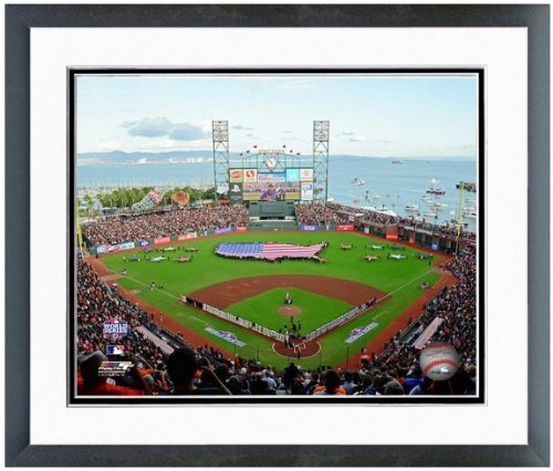 (AT&T Park San Francisco Giants 2012 World Series MLB Stadium Photo (Size:12.5