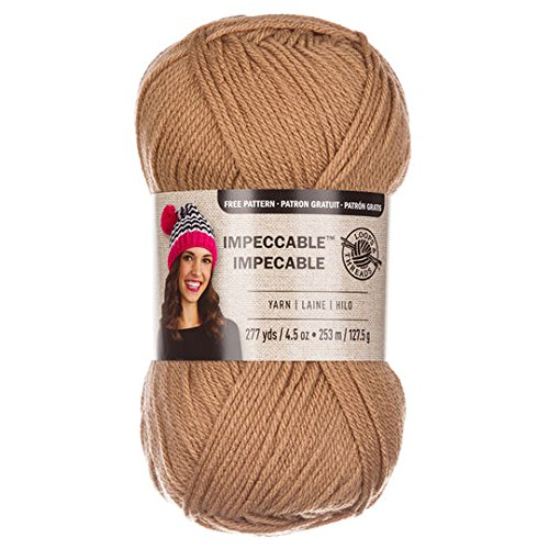 Loops & Threads Impeccable Yarn 4.5 oz. One Ball - Soft Taupe