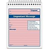 Adams SC9711D Phone Message Booklet 50 Sets 4-1/4''x5-1/2