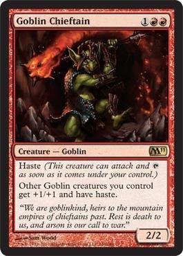 Magic: the Gathering - Goblin Chieftain - Magic 2011