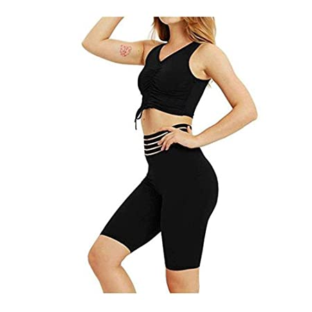 Set de ropa deportiva para mujer Señoras Sexy Shaping A ...
