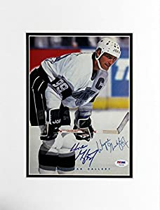 Kings Wayne Gretzky Authentic Signed Matted Magazine Page PSA/DNA #T41035