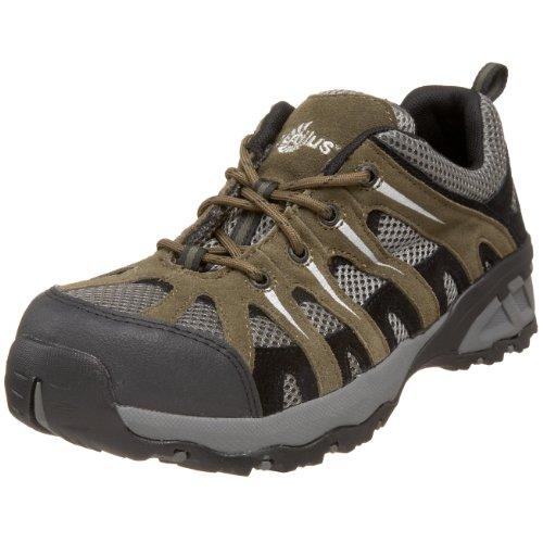 Nautilus 1704Comp Toe No Exposed Metal EH Athletic Shoe,Khaki/Grey,13 W - Bindings Comp
