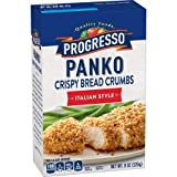 Progresso Panko Bread Crumbs, Italian Style, 8 oz - 6 Pack