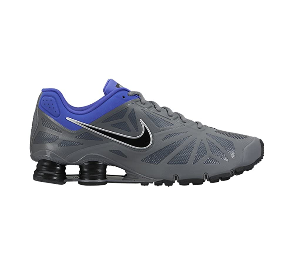 74658902e2d Nike Shox Turbo 14 Men Running Shoes 631760 400 Grey Violet Silver Black 8  D(M) US  Buy Online at Low Prices in India - Amazon.in