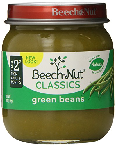 Beech-Nut Classics, Green Beans, 4 Ounce (Pack of 10)