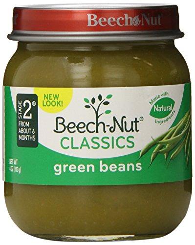 Beech-Nut Classics, Green Beans, 4 Ounce (Pack of 10)