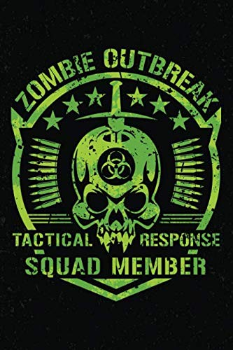 Zombie Outbreak: Notebook Journal Tactical Response Squad Member -