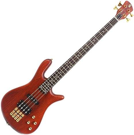 SX SWB1 Warwick Jazzman - Guitarra de bajo activo, color natural ...