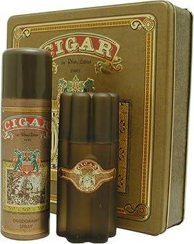 Cigar By Remy Latour For Men. Gift Set Eau De Toilette Spray 3.3 Oz Deodorant Spray 6.6 Oz .