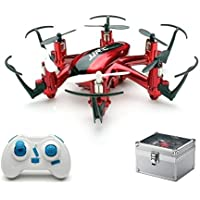 JJRC H20 Nano Hexacopter 2.4G 4CH 6Axis Headless Mode RTF Mode 2 Red+Gift Box