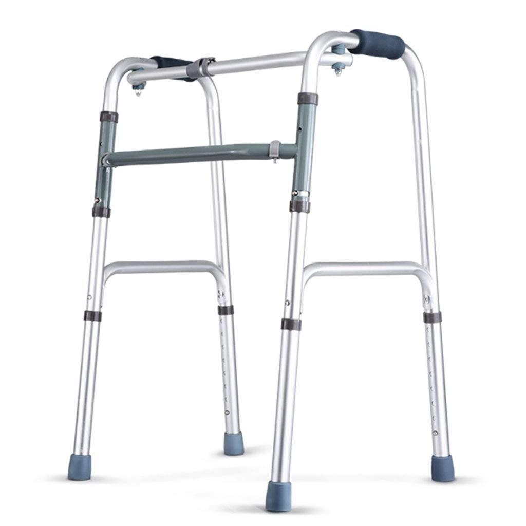 お気に入りの 歩行者の厚いアルミ合金の調節可能な高さは容易に折ることを不可能にされた年配のウォーキングフレーム B07NS14ZXT B07NS14ZXT, 鞍手郡:d0466fcd --- a0267596.xsph.ru