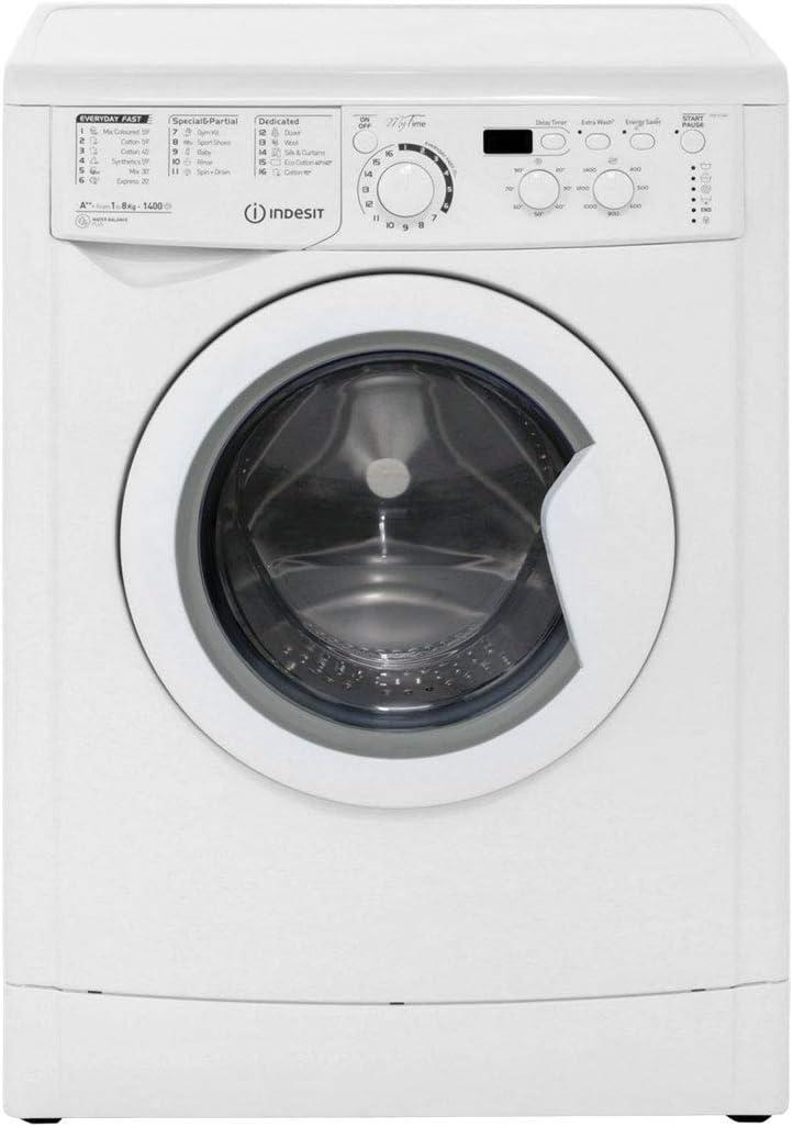 Indesit My Time EWD81482W 8Kg Washing Machine with 1400 rpm - White