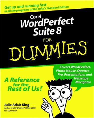Corel WordPerfect Suite 8 For Dummies (2b Suit)