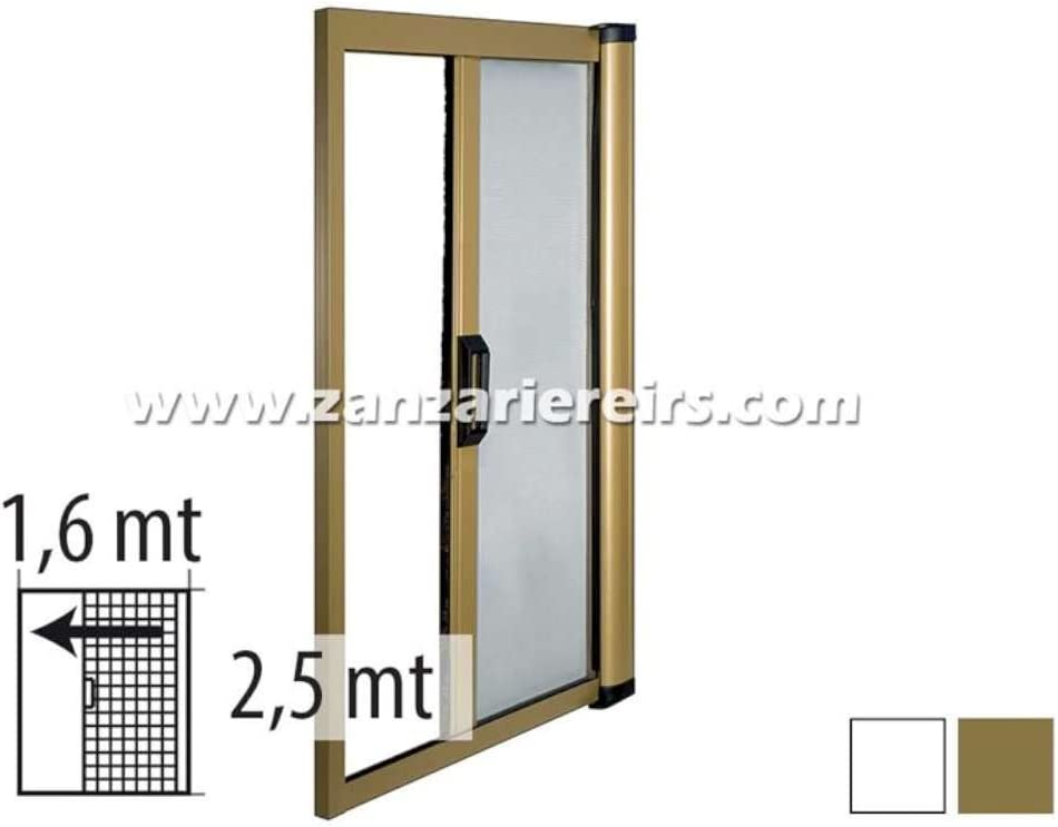 Mosquitera enrollable/reducible Horizontal para puerta de 160 x 250 cm: Amazon.es: Hogar