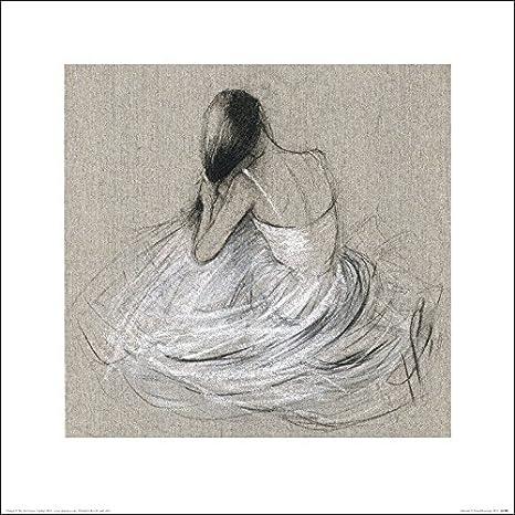 Art Group The Hazel Bowman Matin/Ãe 40 x 40 x 1.3 cm Paper -Art Print 40 x 40cm Multicoloured