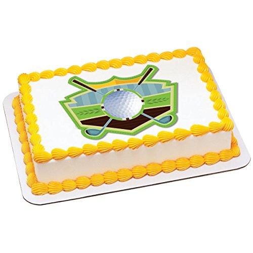 Golf on the Green Edible Sheet Cake Topper #644 ()