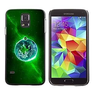 Stuss Case / Funda Carcasa protectora - Sacred Green Fire - Samsung Galaxy S5