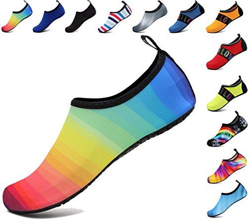 Aqua Sportive per Calzini Uomini Donne adituob Unisex per Cambiare Shoes Red Yoga Beach Surf Water Swim vqwft